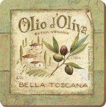 Parafa poháralátét 6db-os 105x105x5mm, Olio d'Oliva