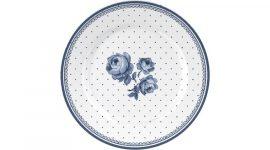 Porcelán desszerttányér Vintage Indigo