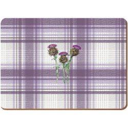 Parafa tányéralátét 4db-os 400x290x5mm,Thistle
