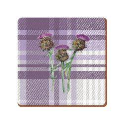 K.C.5187261 Parafa poháralátét 6db-os 105x105x5mm,Thistle