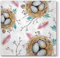Easter Nest papírszalvéta 33x33cm,20db-os