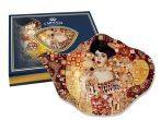 Üveg teafiltertartó 15x11,4cm, Klimt: Adele