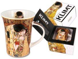 H.C.532-8101 Porcelánbögre Klimt dobozban ,350ml,Klimt:The kiss