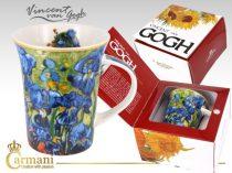 Porcelánbögre 350ml, Van Gogh: Íriszek
