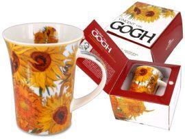 H.C.830-8106 Porcelánbögre Van Gogh dobozban,350ml,Van Gogh:Napraforgók