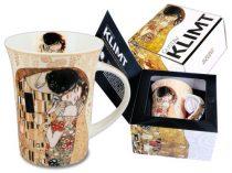 Porcelánbögre, Klimt dobozban, 350ml, Klimt: The Kiss
