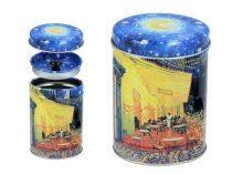 Fémdoboz 6,5x9cm, Van Gogh: Kávéház éjjel