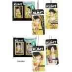 H.C.457-4100 Autóillatosító karton, 12,8x6cm, Klimt, Amore Mio/Golden Lily (2 db-os)
