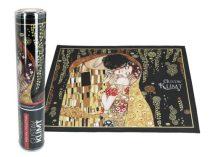 Szövött jellegű tányéralátét 29,5x40cm,polyester,Klimt:The Kiss