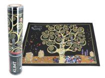 Szövött jellegű tányéralátét 29,5x40cm,polyester,Klimt: Életfa