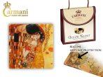 H.C.198-2801 Üveg poháralátét 10,5x10,5cm, Klimt: The Kiss