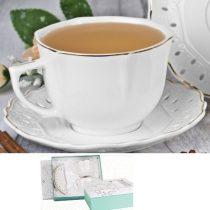 Karin porceláncsésze+alj,260ml,2 személyes,dobozban