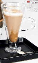 Duali Caffe Latte duplafalú hőtartó üvegpohár 2db-os szett,230ml