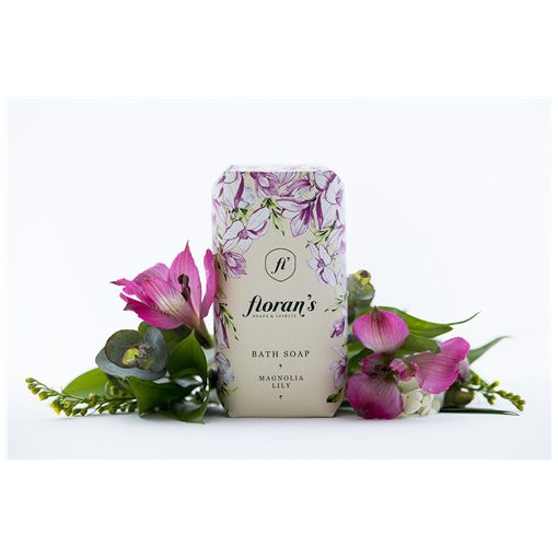 Floran's szappan 200g,Magnolia-Liliom