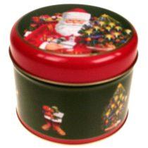 Father Christmas konyhai fémdoboz,diam105x80mm
