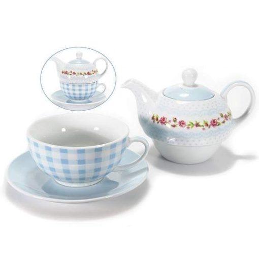 Kék teázó szett