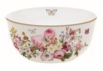 Porcelántálka 14cm, Blooming Opulence cream