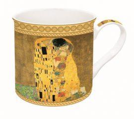 R2S.170KLI1 Porcelánbögre dobozban,300ml,Klimt:The kiss