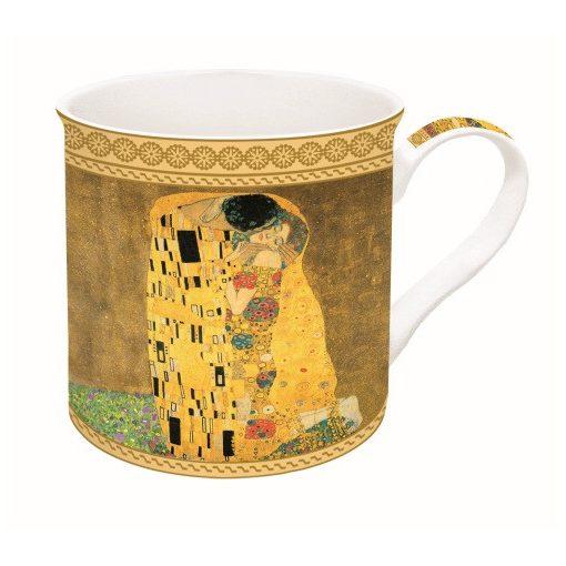 Porcelánbögre dobozban,300ml,Klimt:The kiss