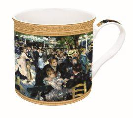 R2S.170REN1 Porcelánbögre dobozban 300ml,Renoir:Bál a Le Moulin de la Galette-nél