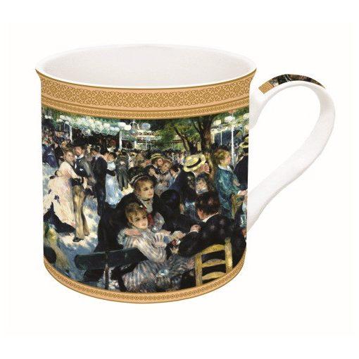 Porcelánbögre dobozban 300ml,Renoir:Bál a Le Moulin de la Galette-nél