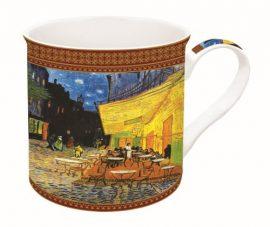 Porcelánbögre dobozban,300ml,Van Gogh:Kávéház éjjel