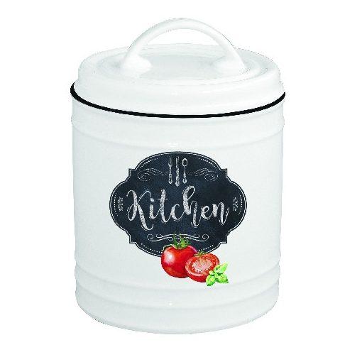 Porcelán konyhai tároló 10x15cm, Kitchen Basics
