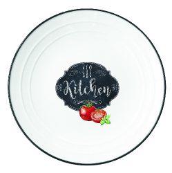 Porcelán desszerttányér 16cm, Kitchen Basics
