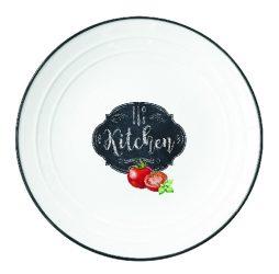 R2S.1623KIBK Porcelántányér 21,5cm, Kitchen Basics