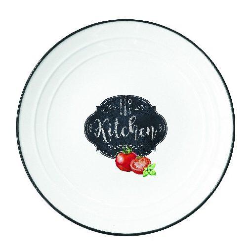 Porcelántányér 21,5cm, Kitchen Basics
