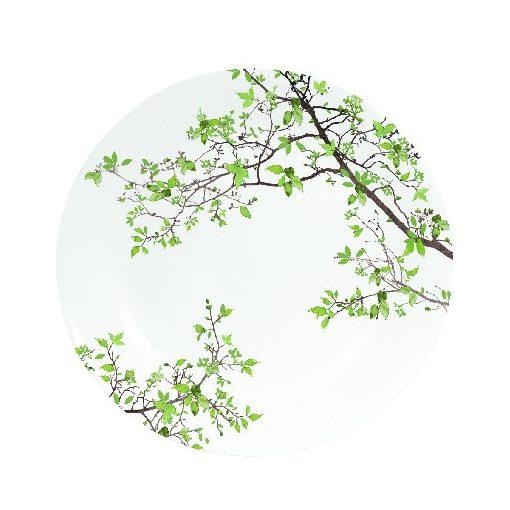 Porcelán desszerttányér 19cm, dobozban, Natura