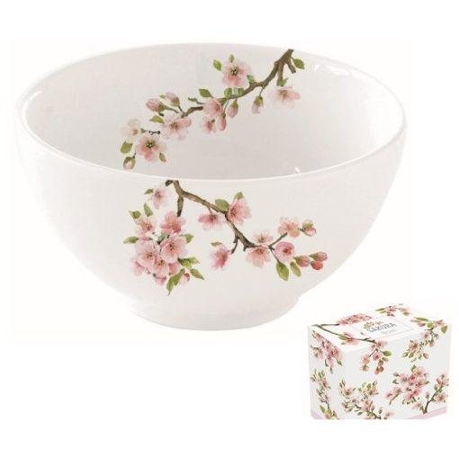 Porcelántálka12cm,dobozban,Sakura