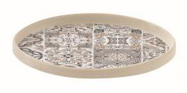 R2S.1653CADG Porcelán kistányér 16cm,Casa Decor grey