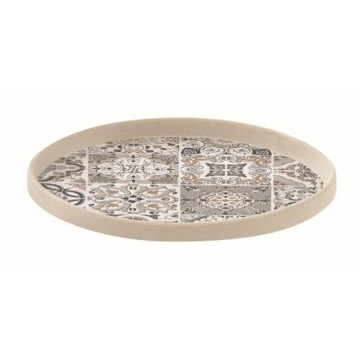 Porcelán kistányér 16cm,Casa Decor grey