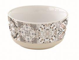 R2S.1659CADG Porcelántálka 12cm,Casa Decor grey