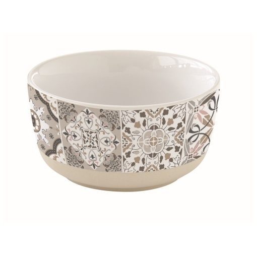 Porcelántálka 12cm,Casa Decor grey