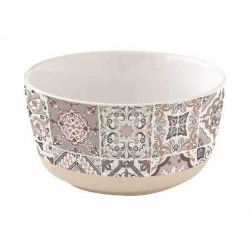 Porcelántálka 16cm,Casa Decor grey