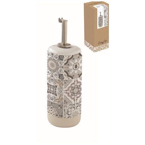 Porcelán olajkiöntő 250ml,dobozban,Casa Decor grey
