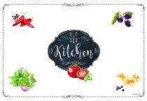 Müanyag tányéralátét 45x30cm, Kitchen Basics