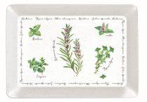 Műanyag tálca 31x23cm,Herbarium