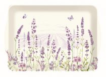 Műanyag tálca 46x32cm,Lavender Field