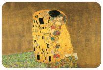 Műanyag tányéralátét 45x30cm,Klimt:The Kiss