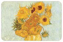 Műanyag tányéralátét 45x30cm,Van Gogh:Napraforgók
