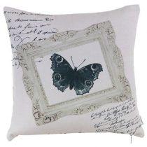 Fekete pillangó párnahuzat