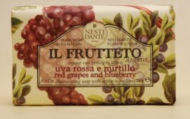 IL Frutteto,red grapes and blueberry szappan 250g