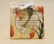 Gli Officinali,calla-lily and rosemary szappan 200g