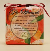 Gli Officinali,camellia and cinnamon szappan 200g