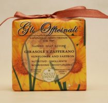 Gli Officinali,sunflower and saffron szappan 200g