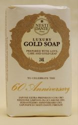 N.D.60th Anniversary,gold szappan 250g