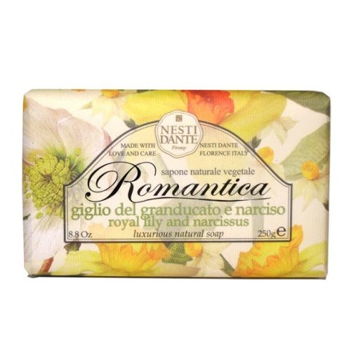 Romantica,royal lily and narcissus szappan 250g